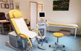 Ordination Poysdorf Behandlungsbereich